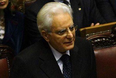 Mattarella Cumhurbaşkanlığı görevine başladı