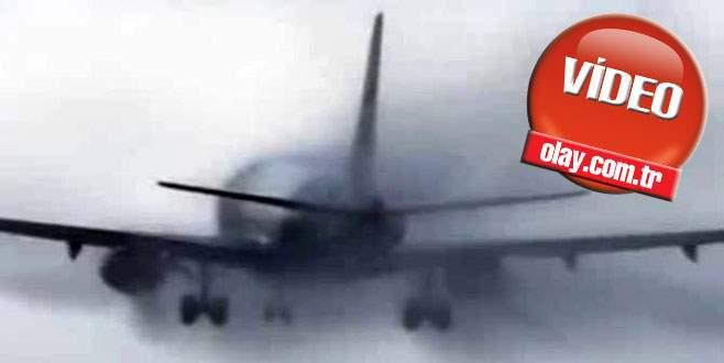 THY uçağının zor anları!