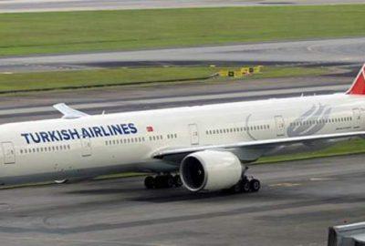 THY uçağı Londra'ya acil iniş yaptı
