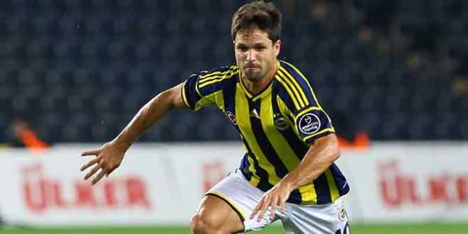 Fenerbahçeli Diego'nun taraftar heyecanı