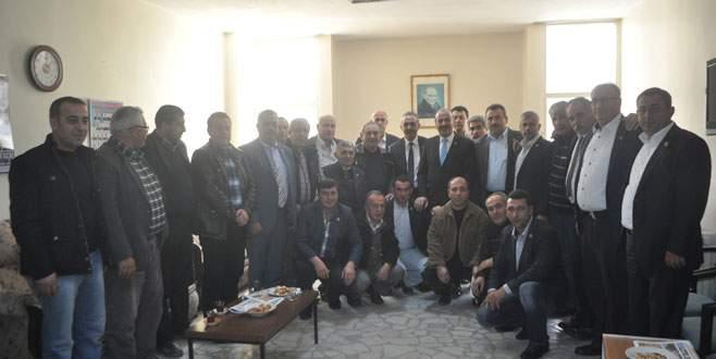 Türkyılmaz'dan 'muhtar' ziyareti