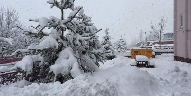 5 ile yoğun kar yağışı uyarısı!