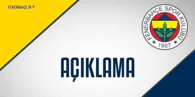 Fenerbahçe'den Bülent Yıldırım açıklaması