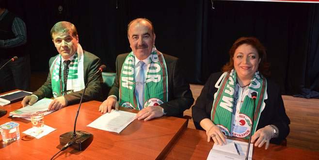 Mudanyaspor'a kaşkol desteği!