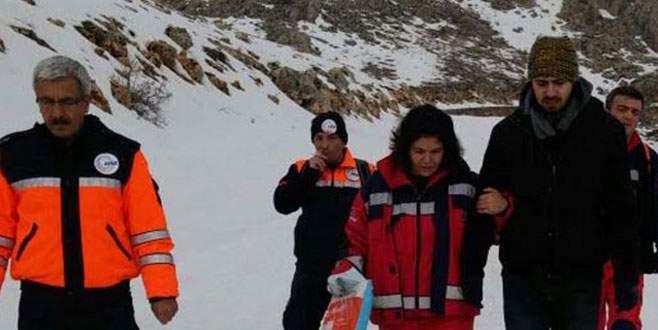 2 üniversiteli Nemrut Dağı'nda ölümden döndü