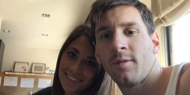 Messi'den Türk pozu! Bir mangalı eksik!