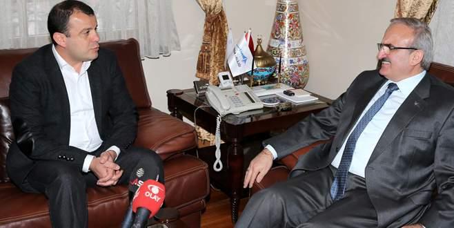 ÇGD'den Vali Karaloğlu'na ziyaret