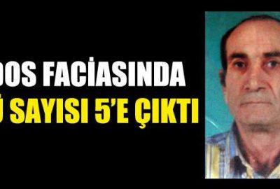 Bursa'da lodos faciasında ölü sayısı 5'e çıktı