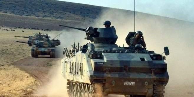 Füzelerin yönü Suriye'ye çevrildi
