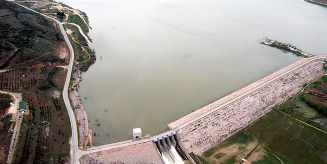 Bursa'da barajlar ne kadar doldu?