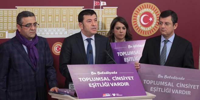 CHP'den 'Mor Bayrak' projesi