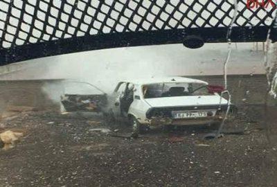 Şanlıurfa Suruç'ta patlama! 2 yaralı