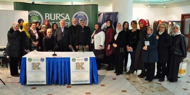 Kültür Sanat Haftası'nda Emir Sultan Hazretleri konuşuldu