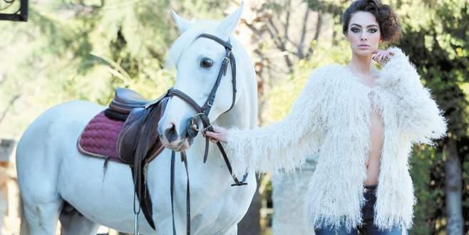 Rus güzelin Antalya çıkarması