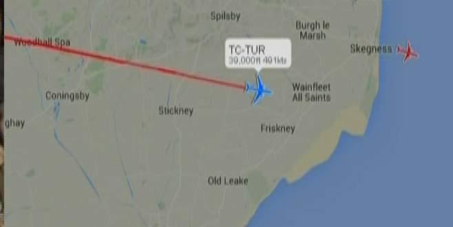 Erdoğan'ın uçağı Houston'a indi