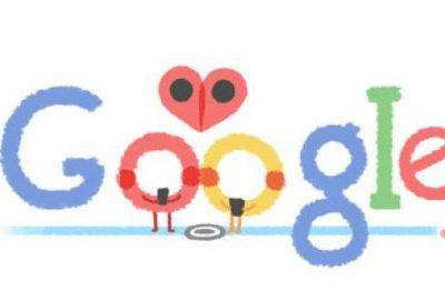 Google'dan 'sevgililer günü' doodle'ı
