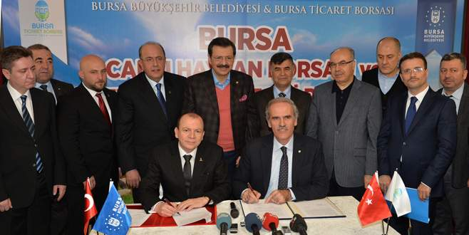Büyükşehir ile 'Borsa'dan çifte protokol