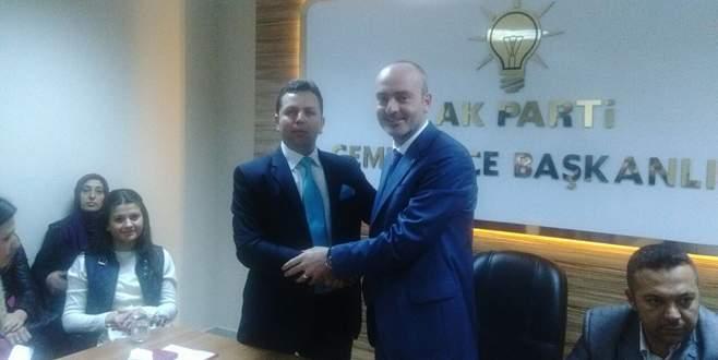 Gemlik'te AK Parti'de ilk aday adayı Çakır oldu