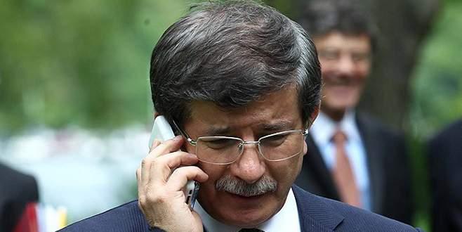 Davutoğlu'ndan Özgecan'ın ailesine taziye telefonu