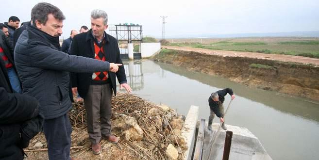 Arazileri artık su basmayacak