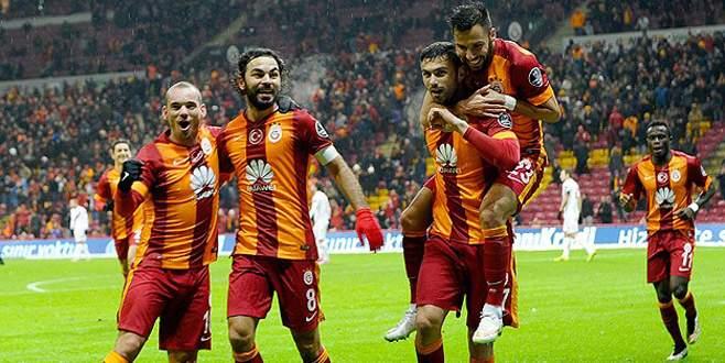Galatasaray evinde kazandı: 3-1