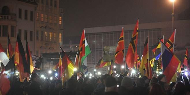 PEGIDA 15. gösterisini düzenledi