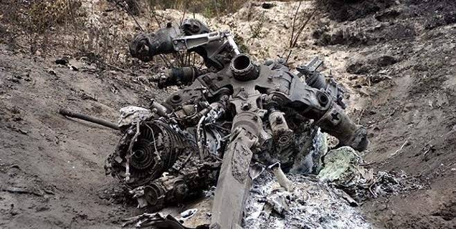 Suriye helikopteri düşürüldü mü?