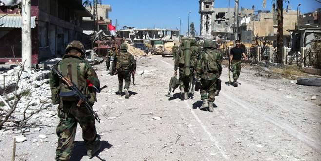 Suriye ordusu Halep'i kuşattı