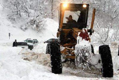 Bursa'da 37 köy yolu kapalı