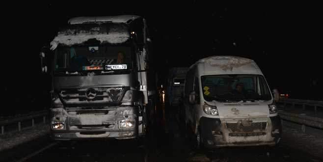 Bursa'da 320 köy yolu ulaşıma kapandı