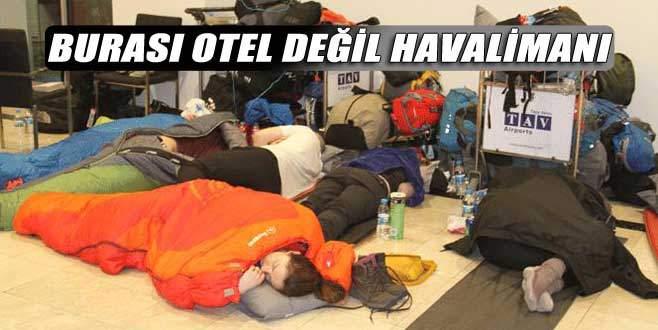 Atatürk Havalimanı'nı otele çevirdiler