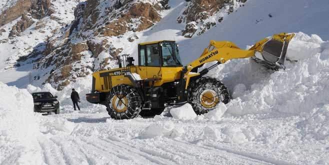Yenişehir'de 48 köy yolu kapalı
