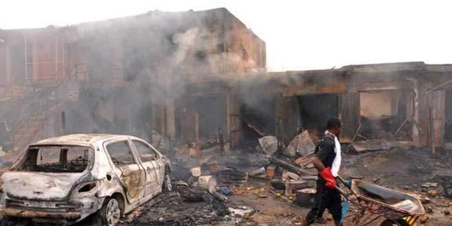 Boko Haram yerine köylüleri bombaladı
