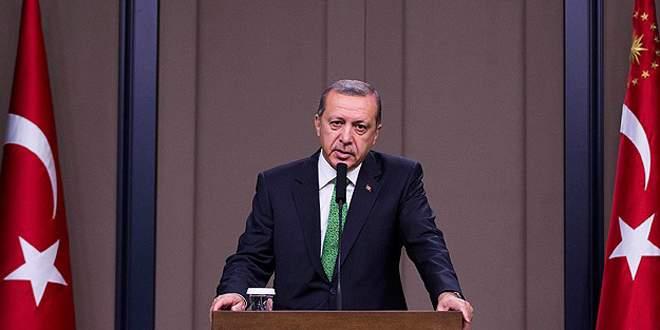 Erdoğan'dan Süleyman Şah tebriği