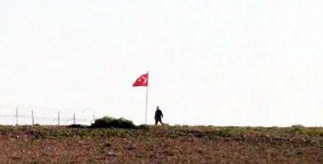 Eşmeler Köyü'nden Türk bayrağının ilk görüntüsü