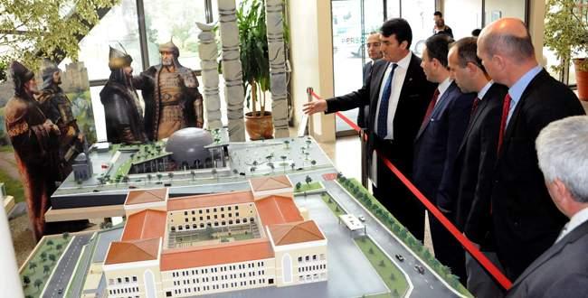 Kozlukebir heyeti Panorama Bursa'ya hayran kaldı