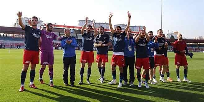 Mersin İdmanyurdu gol oldu yağdı