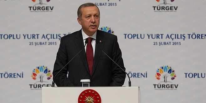 Erdoğan: TÜRGEV onlar için bir tehditti, çünkü…