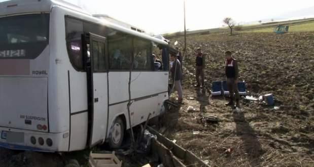 Bursa'da feci kaza! 2 ölü, 29 yaralı