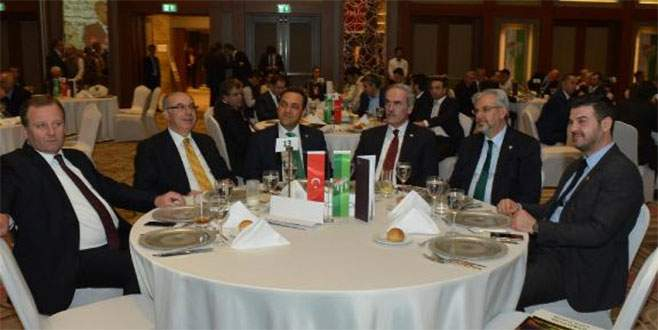 Bursaspor Timsah Arena'yı işadamlarına tanıttı