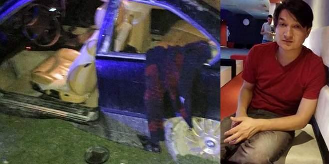 Otomobilini aldığı gün yaptığı kazada öldü