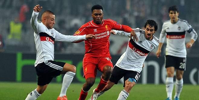Beşiktaş Liverpool'u devirdi!