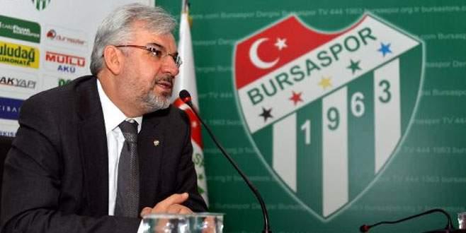 Bursaspor'da kötü tezahüratı önleme seferberliği