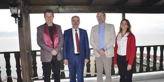 İsveçli Büyükelçi'den Türkyılmaz'a ziyaret