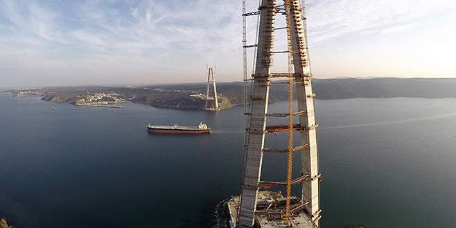Türkiye'nin çehresi mega projelerle değişiyor