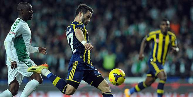 Fenerbahçe, Konya deplasmanında yara aldı
