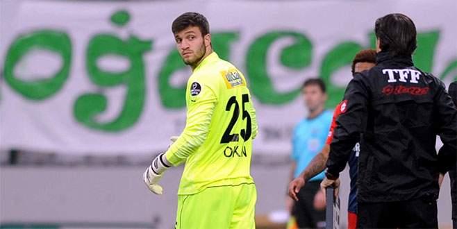 Okan Kocuk ilk lig maçına çıktı