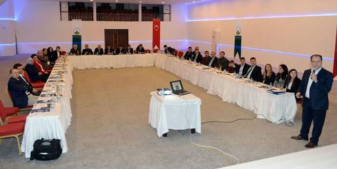 Osmangazi yönetimi Uludağ'da toplandı