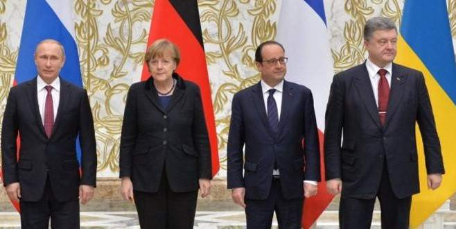 Normandiya dörtlüsü toplanıyor