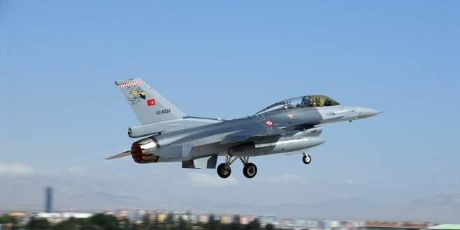 F-16'lar 'vur' emriyle havalandı